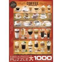 Пазл  Кофе 1000 элементов, EuroGraphics 6000-0589