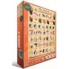 Пазл  Суши 1000 элементов, EuroGraphics 6000-0597