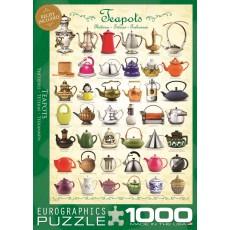 Пазл  Чайники 1000 элементов, EuroGraphics 6000-0599