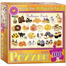 Пазл  Угощения на Хэллоуин 100 элементов, EuroGraphics 6100-0432