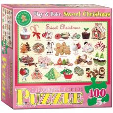Пазл  Рождественские угощения 100 элементов, EuroGraphics 6100-0433