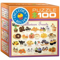 Пазл  Угощения на Хэллоуин 100 элементов, EuroGraphics 8104-0432