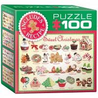 Пазл  Рождественские угощения 100 элементов, EuroGraphics 8104-0433