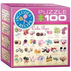 Пазл  Пирожные 100 элементов, EuroGraphics 8104-0518