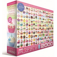 Пазл  Кексы 2000 элементов, EuroGraphics 8220-0629