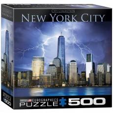 Пазл  Нью-Йорк - Всемирный торговый центр 500 элементов, EuroGraphics 8500-0731