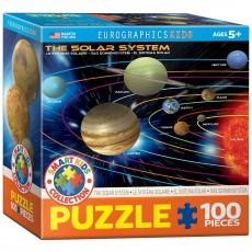 Пазл  Солнечная система 100 элементов, EuroGraphics 8100-1009