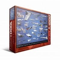Пазл Прибережный коттедж с цветами 4000 элементов, EuroGraphics 6000-0248