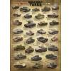Пазл Танки 2-й Мировой войны, EuroGraphics 6000-0388