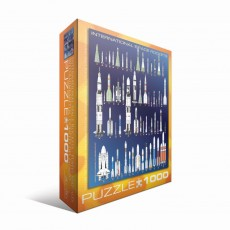 Пазл Космические ракеты, EuroGraphics 6000-1015