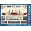 Пазл Титаник, EuroGraphics 6000-3510