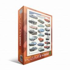 Пазл Американские автомобили 1950-х, EuroGraphics 6000-3870