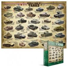 Пазл Танки 2-й Мировой войны, EuroGraphics 8000-0562