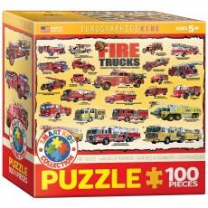 Пазл История пожарных машин, EuroGraphics 8100-0239