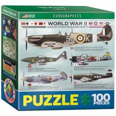 Пазл Самолеты 2-й Мировой войны, EuroGraphics 8104-0559