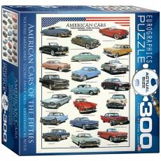 Пазл Американские автомобили 1950-х, EuroGraphics 8300-3870
