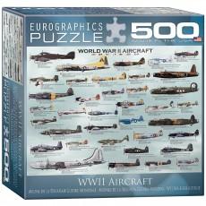 Пазл Самолеты 2-й Мировой войны, EuroGraphics 8500-0075