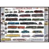 Пазл История поездов, EuroGraphics 8500-0251