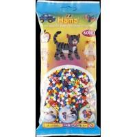 Набор цветных бусин Midi 5+, 6000 шт., 10 цветов