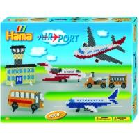 Большой Набор термомозаики Аэропорт , Hama 3127