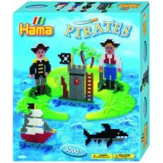 Большой Набор термомозаики Пираты , Hama 3229