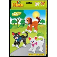 Набор термомозаики Собачки и котики , Hama 3433