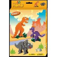 Набор термомозаики Динозавры , Hama 3434