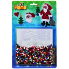 Супернабор термомозаики Дед Мороз , Hama 4098