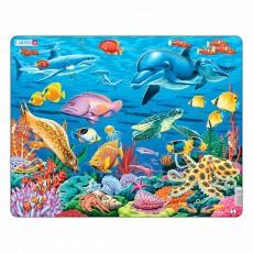 Пазл для маленьких Коралловый риф, серия МАКСИ, Larsen FH29