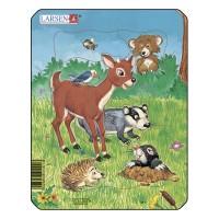 Пазл для маленьких Домашние животные №1, серия МИНИ, Larsen M1-1