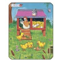Пазл для маленьких Домашние животные №2, серия МИНИ, Larsen M1-2