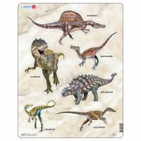 Пазл для маленьких Динозавры, серия МАКСИ, Larsen X12