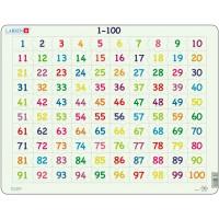 Пазлы рамки-вкладыши Числа, серия Макси Larsen, Larsen AR10