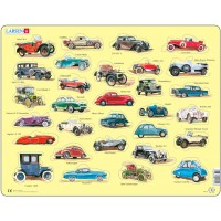 Пазлы рамки-вкладыши Автомобили, серия Макси Larsen, Larsen AK1