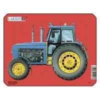 Пазл для маленьких Трактор №2, серия МИНИ, Larsen Z1-2