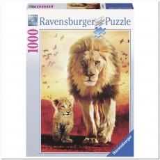 Пазл  Первые шаги 1000 элементов, Ravensburger RSV-190515