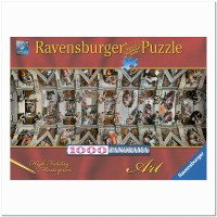 Пазл Сикстинская капелла 1000 элементов, Ravensburger RSV-150625