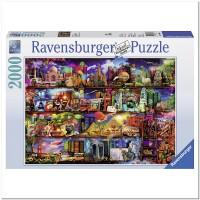 Пазл Книжный мир 2000 элементов, Ravensburger RSV-166855