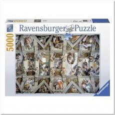 Пазл Сикстинская капелла 5000 элементов, Ravensburger RSV-174294