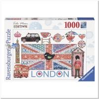 Пазл Пазл Лондон 1000 элементов, Ravensburger RSV-193721