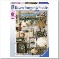 Пазл Старинные почтовые марки 1000 элементов, Ravensburger RSV-194797