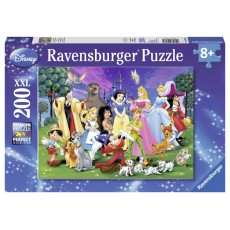Пазл  Любимые герои Диснея 200 элементов, Ravensburger RSV-126989