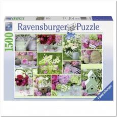Пазл Коттедж с цветами 2000 элементов, Ravensburger RSV-163052