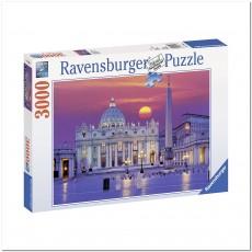 Пазл  Собор Святого Петра, Рим 3000 элементов, Ravensburger RSV-170340