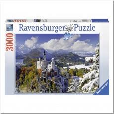 Пазл  Нойшванштайн зимой  3000 элементов, Ravensburger RSV-170623