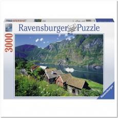 Пазл  Согне-фьорд, Норвегия 3000 элементов, Ravensburger RSV-170630
