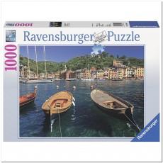 Пазл  Гавань в Портофино, Италия 1000 элементов, Ravensburger RSV-190539