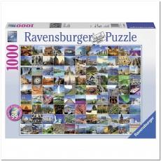 Пазл  99 волшебных мест мира 1000 элементов, Ravensburger RSV-193714