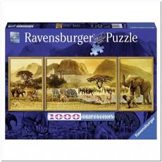 Пазл  Путешествие по Африке 1000 элементов, Ravensburger RSV-193752