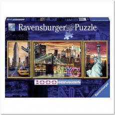 Пазл Снеговики 1000 элементов, Ravensburger RSV-199952